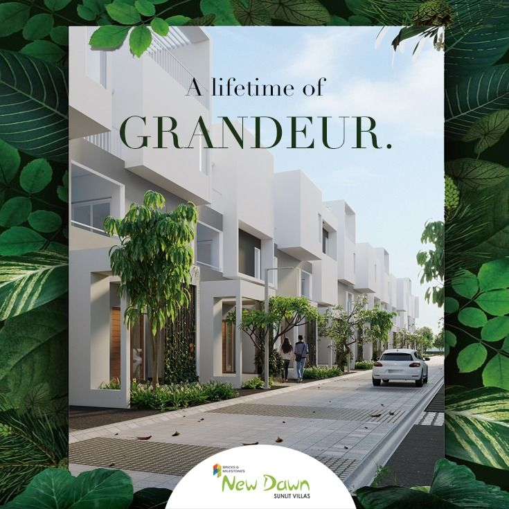 Which Is Why We Give You Nothing But The Best At New Dawn These 4 Bedroom Row Villas Come With A Home Elevator A Sky Lit House Elevation Private Garden Villa
