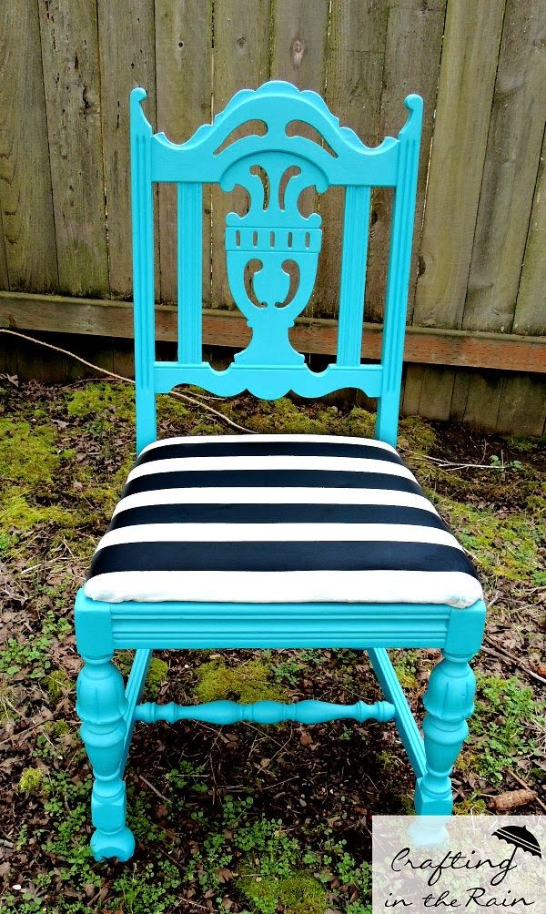 Chalk Painted Furniture by Color - TURQUOISE chalk paint | www.mommyenvy.com