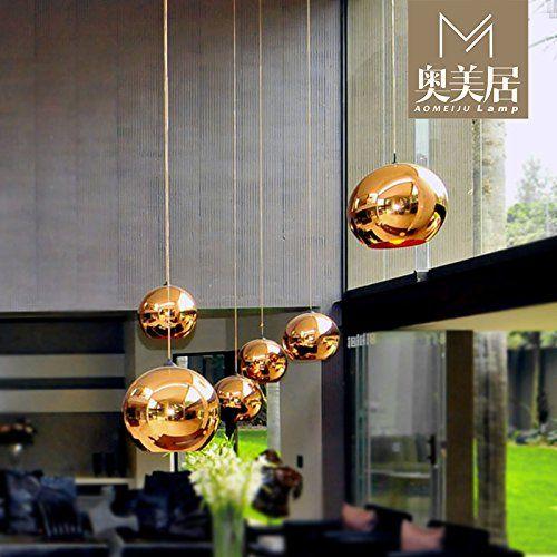 Moderne Haengeleuchte Modernen Kronleuchtern Vergoldete Kupfer Farbigen Glas