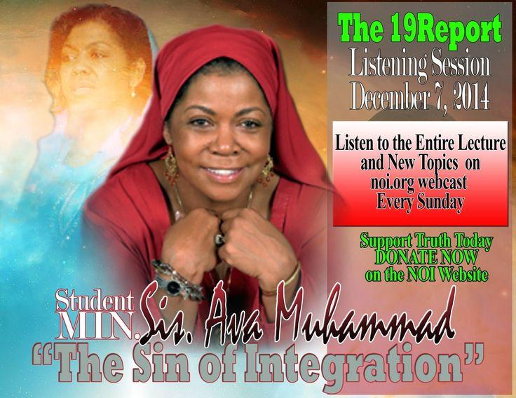 Sis. Dr. Ava. Muhammad (The Sin of Intergration)