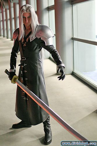 Final Fantasy VII Sephroth, wonder what the female version would look like