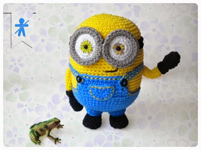 Free Crochet Pattern For Minion Eyes : 656 best images about Amigurumis Free Patterns - Patrones ...
