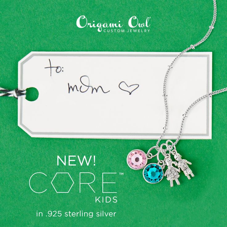 Origami Owl Core Collection. What a pretty and sophisticated way to capture your love for your kids (or grandkids!). These new pieces can also be added to a Bangle bracelet. http://ltl.is/afy9I