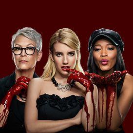 scream queens. yep, so loving this show.