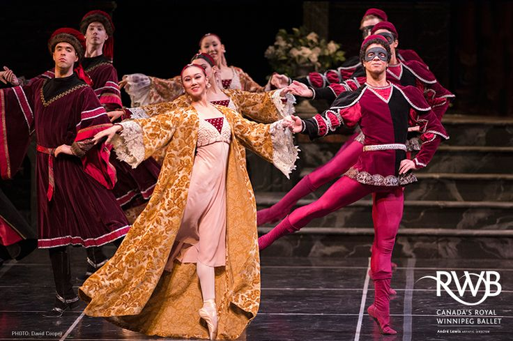 The Royal Winnipeg Ballet's Romeo + Juliet  Photo: David Cooper