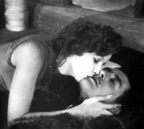 "classyhollwood: "" Greta Garbo and John Gilbert (Flesh and the Devil, 1926) """