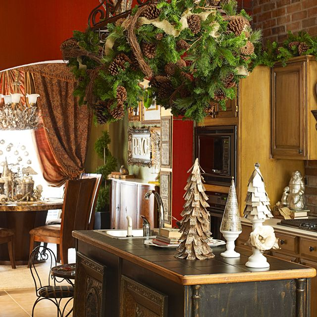 Kitchen Decorated For Christmas: 50 Best Large Kitchen Island Images On Pinterest