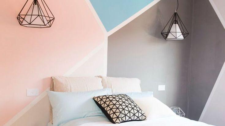 1000 id es sur le th me peinture de t te de lit sur - Deco tete de lit en peinture ...