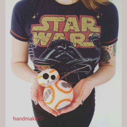 BB8 action figure #handmake #handmade #crochet  #instacrochet #droid #starwars #bb8 #episode7 #lucasarts #etsyfinds #etsy #r2d2 #starwarsfan #starwarsday  #actionfigure #gift #theforceawakens #коллекционнаяфигурка #дроид #звездныевойны #подарок #пробуждениесилы #эпизод7 #подарок