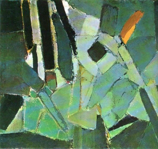 Nicolas de Staël - Abstract Art - Rue Gauguet, 109 - 1949