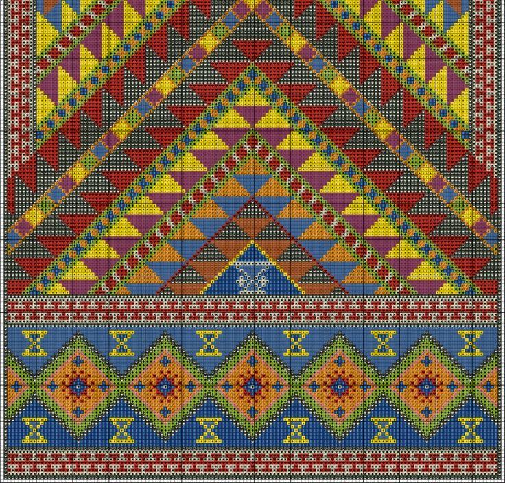 Gallery.ru / Фото #4 - Geometric Carpet - azteca