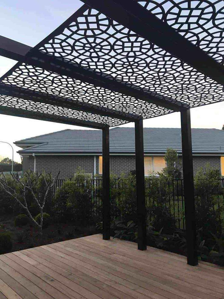 Moucharabieh Couverture De Pergola Pergola Design Pergola