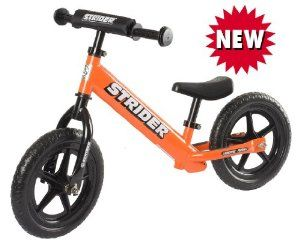 Best Kids Balance Bike for Sale - Orange STRIDER ST-4 Bike, No-Pedal Boys and Girls Balance Bike, Not a Tricycle, Not Training Wheels