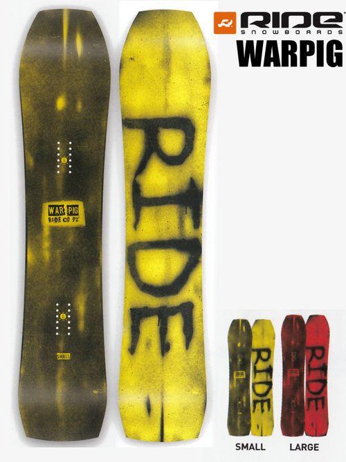 スノーボード板2016-2017RIDEライドWARPIG