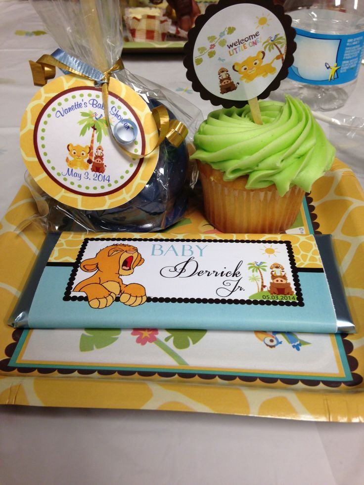 lion king baby baby hunter king jr baby shower favors baby shower