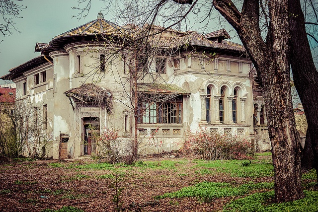 Buildings from Bucharest: the forgotten mansion on Kiseleff Boulevard