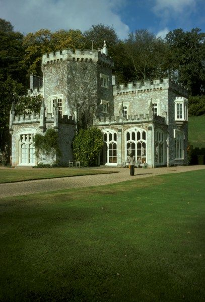 Luscombe Castle in Devon, England. Designed by John Nash ...