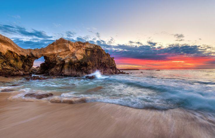laguna beach ca at pearl street arch   California Beaches: Laguna's Pearl Street Beach