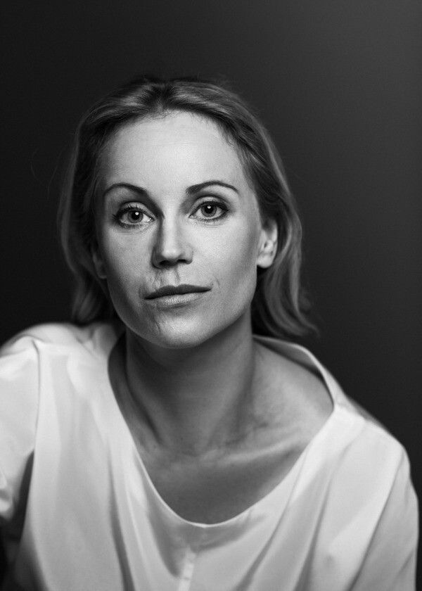 "Sofia Helin who played the detective Saga Norén in ""The ..."
