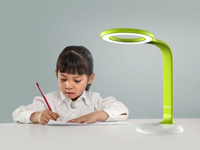 Solo Chang – Tencent children smart desk lamp #lamp #lighting #design