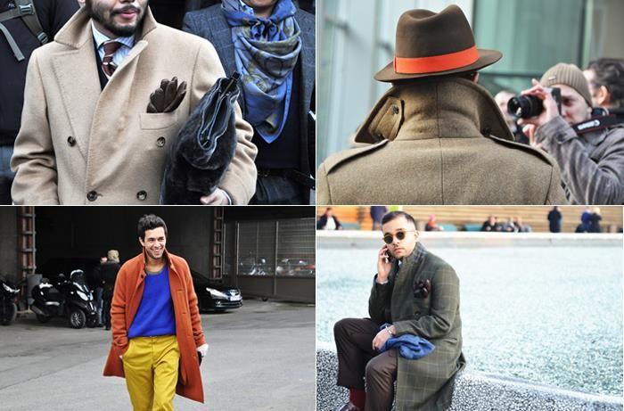Серое пальто и неприметный серый шарф