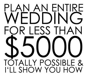 Plan An Entire Wedding Under $5000 // Tips and Tricks to get your whole wedding for less than $5000  by Wedding Photographer Jennifer Hamric based out of Greenville, SC // Cheap Wedding Ideas, Inexpensive Wedding