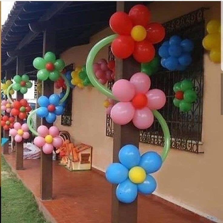 Decoraciones Con Globos Decoracion Globos Diy Manualidades En 2020 Decoracion Con Globos Cumpleanos Globos Decoraciones De Globos Para Fiesta