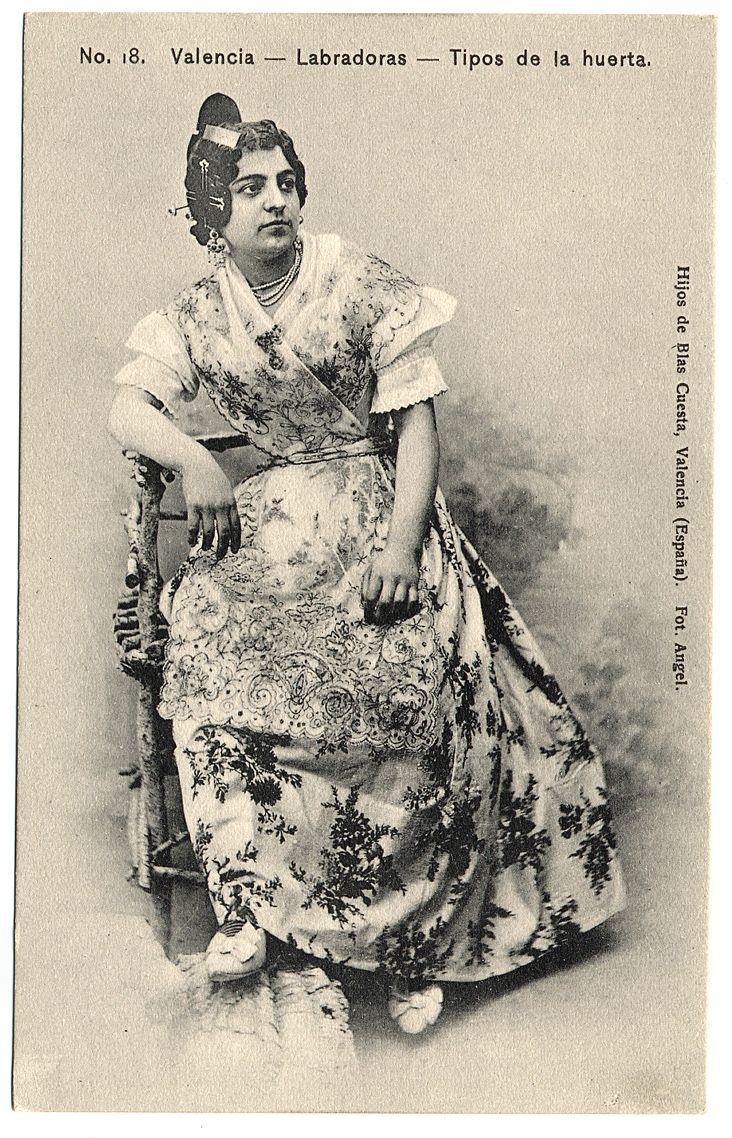 Labradoras de Valencia (entre 1901 y 1905)