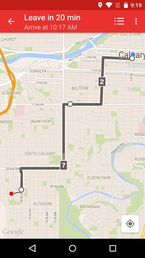 Calgary Transit - screenshot
