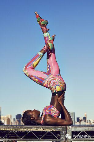 Nike Pro - Magical Kaleidoscope by artist Yuko Kanatani