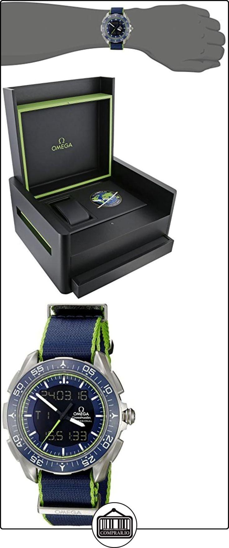 Omega Speedmaster automático de los hombres reloj de cuarzo suizo de titanio 31892457903001  ✿ Relojes para hombre - (Lujo) ✿