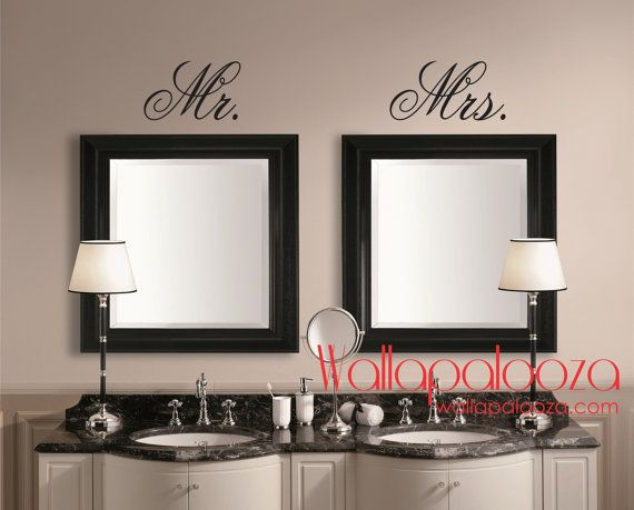 17 Best Ideas About Bathroom Wall Decals On Pinterest