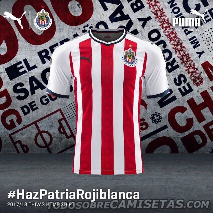 Camiseta local PUMA de Chivas 2017-18