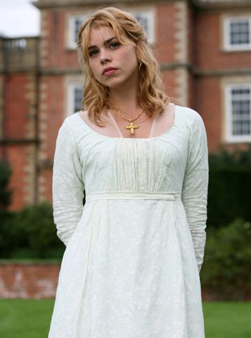 Billie Piper, Fanny Price - Mansfield Park directed by Iain B. MacDonald (TV Movie, 2007) #janeausten