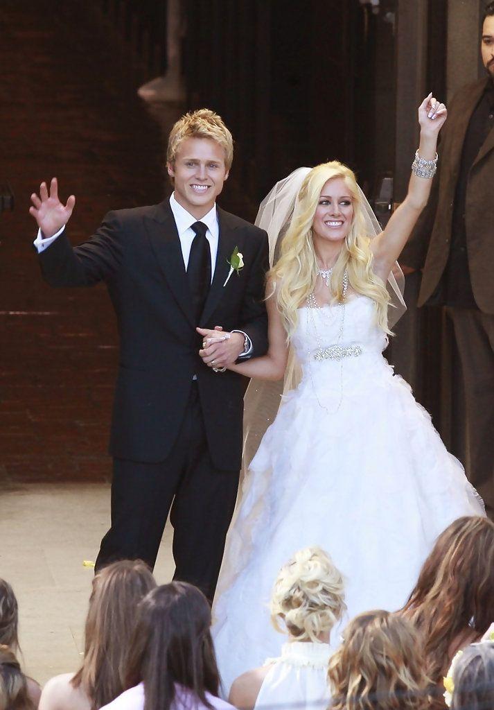 Spencer Pratt And Heidi Montag's Wedding in Pasadena,  California. Westminster Presbyterian Church