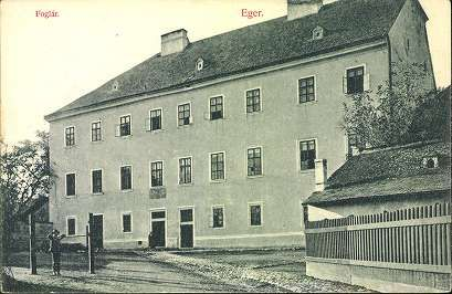 1909. Eger; Fogtár   Képcsarnok   Hungaricana