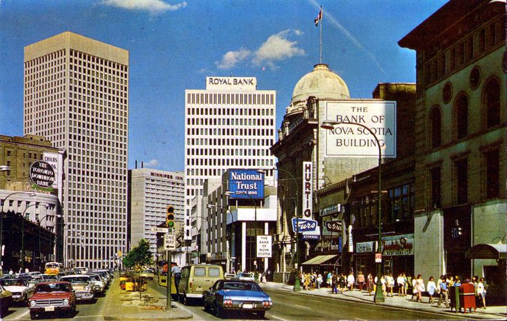Portage Avenue (early 70s?)