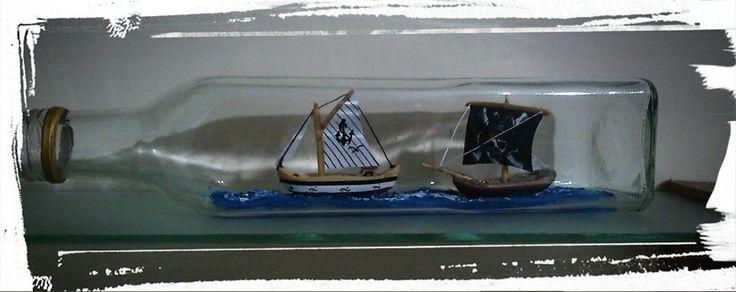 pirates pursuit the trade ship! :)