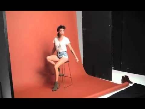 Adorable behind-the-scenes video from Lanie Lane's cover shoot for Yen magazine #lanielane