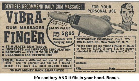 A gum massager...riiiiight.