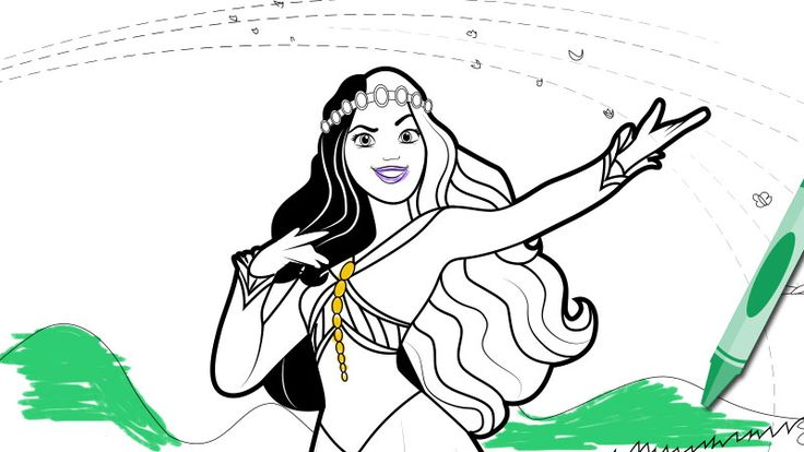 Sofia The First Curse Of Princess Ivy Coloring Page