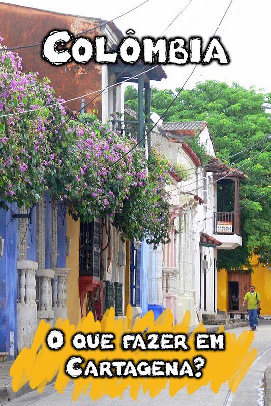 O que fazer em Cartagena das Índias? Praias, história, arquitetura, vida noturna, boa gastronomia...há muito para ver nesse paraíso do litoral da Colômbia.