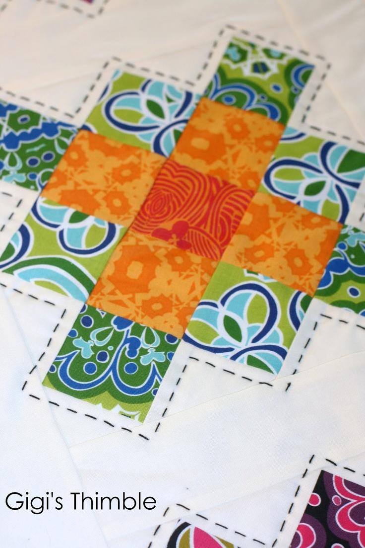 95 best big stitch quilting images on Pinterest | Patchwork ...