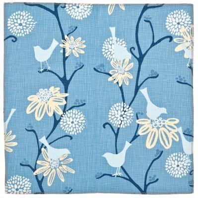 Tweet Suite: True Blue (fabric yardage)