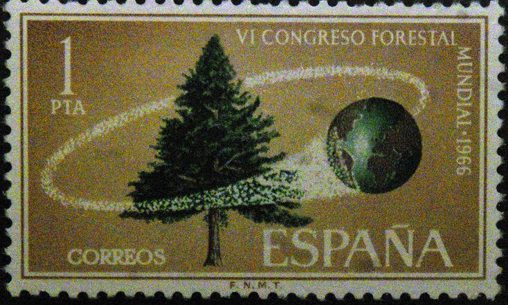 Sellos - VI Congreso Forestal Mundial