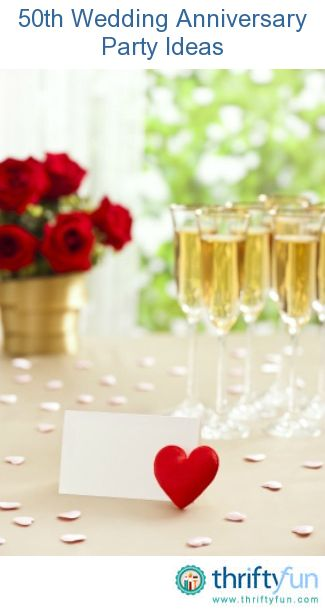 50th Wedding Anniversary Gift Ideas For Guests : guide about 50th wedding anniversary party ideas. A 50th anniversary ...