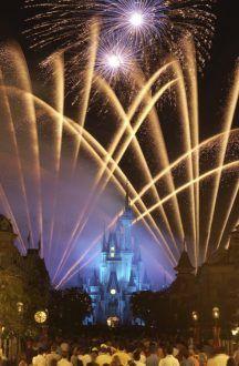 Wishes Fireworks - disney