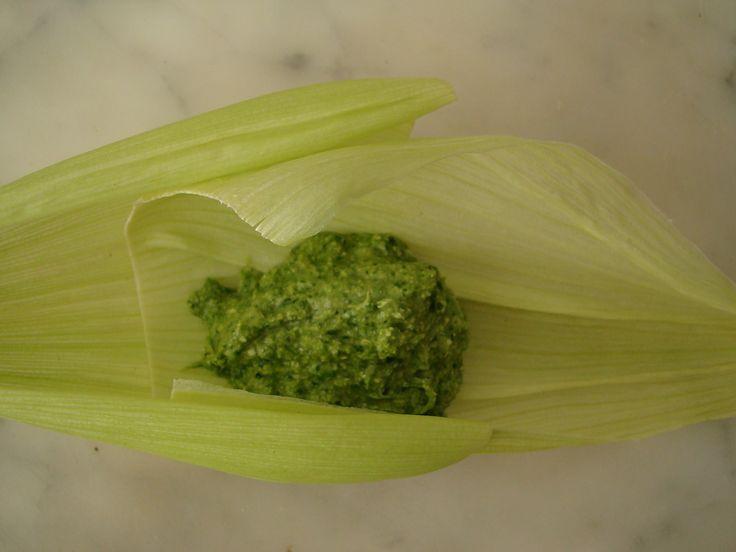 tamalitos verde