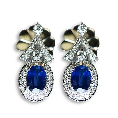 This is another gorgeous colorful gemstone earrings - Parris Jewelers #jewelry