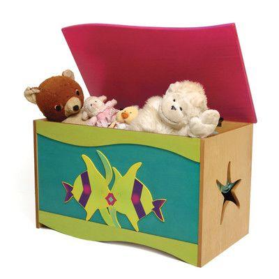 Room Magic Tropical Seas Toy Box RM50-TS,    #Room_Magic_RM50-TS